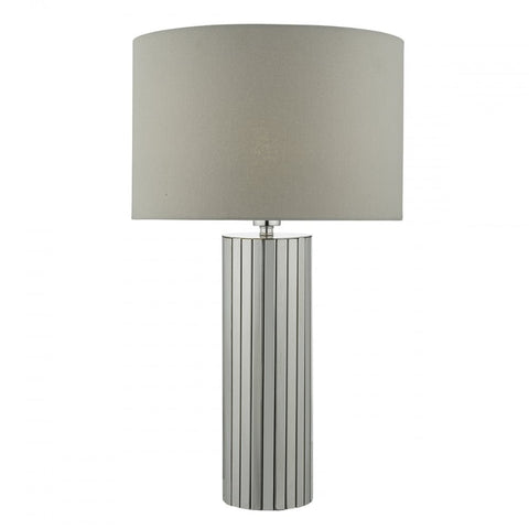 Cassandra Polished Chrome Table Lamp