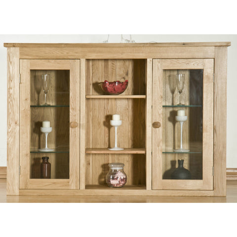 Clifton Oak Large Sideboard Top Unit