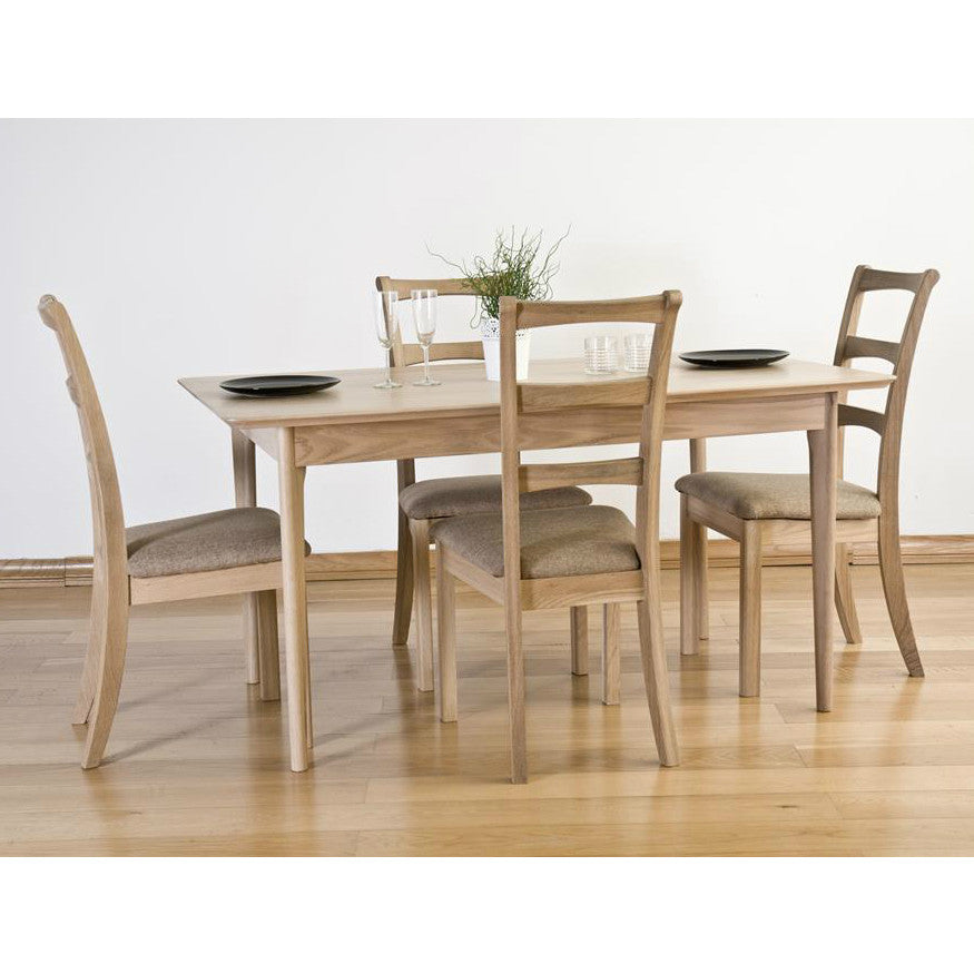 Cotham Oak 150cm Fixed Dining Table from Quarter Furniture - 1