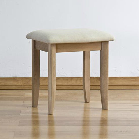 Cotham Oak Dressing Table Stool