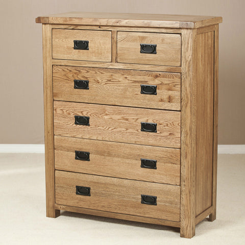 Durdham Oak 6 Drawer Chest