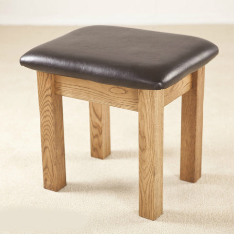Durdham Oak Dressing Table Stool