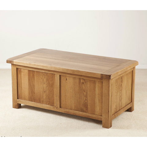 Durdham Oak Large Blanket Box