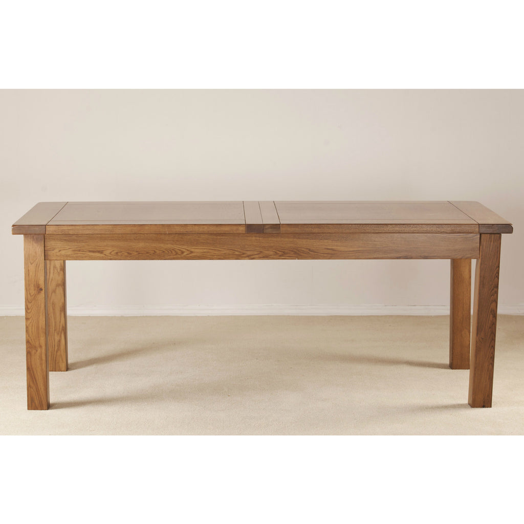 Durdham Oak Large Extending Dining Table from Quarter Furniture - 1