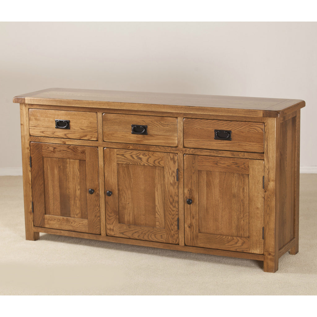 Durdham Oak Large Sideboard from Quarter Furniture - 1