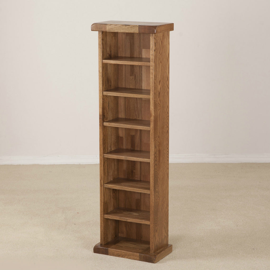 Durdham Oak Media Rack from Quarter Furniture - 1