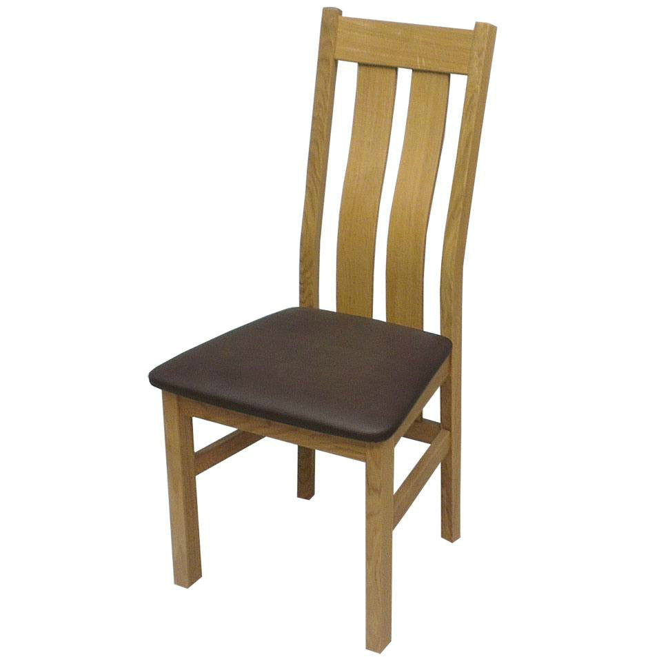 Durdham Oak Slat Back Chair from Quarter Furniture