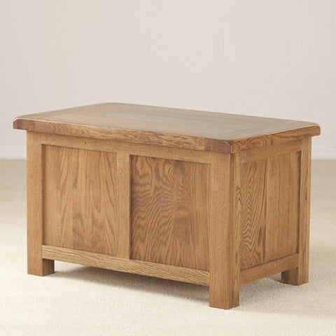 Durdham Oak Small Blanket Box