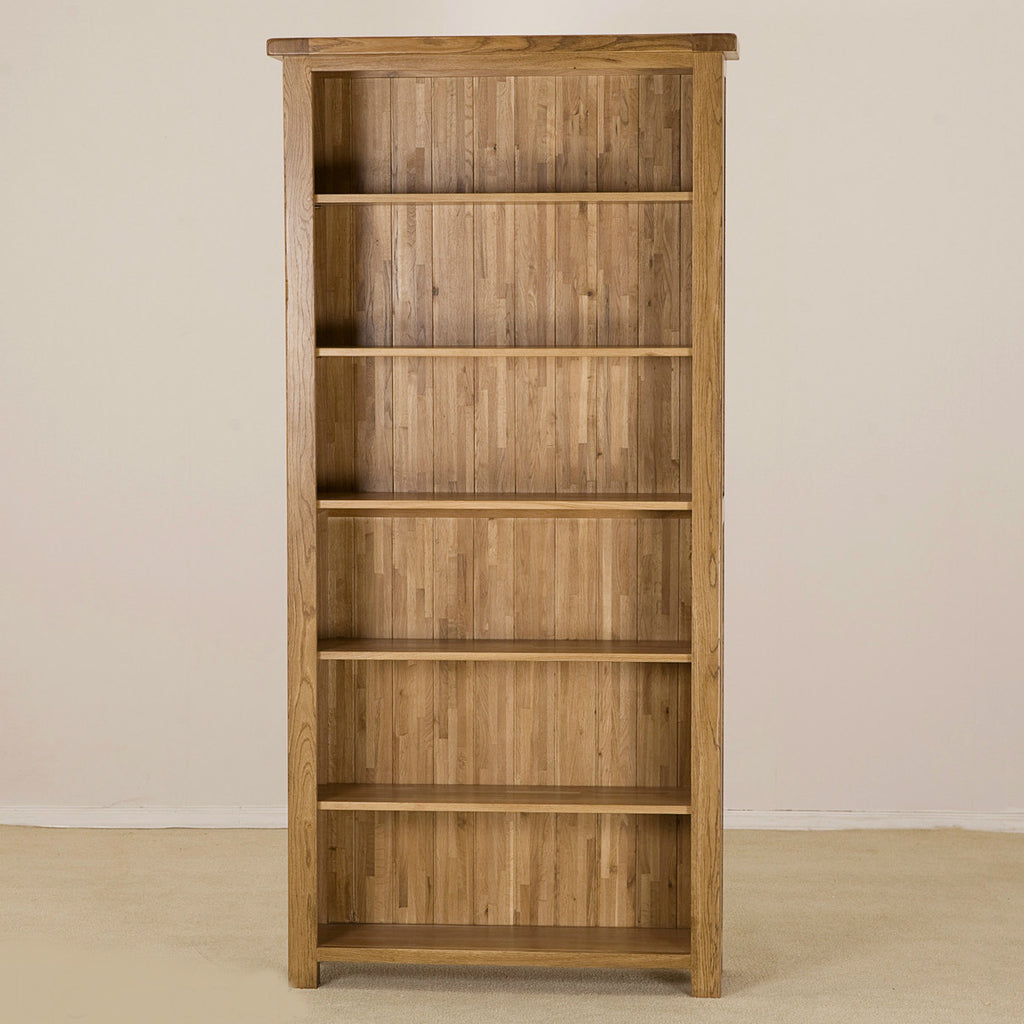 Durdham Oak Tall Bookcase from Quarter Furniture - 1