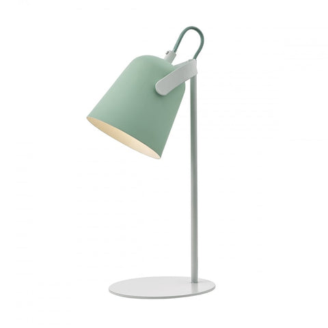 Effie Green And White Table Lamp