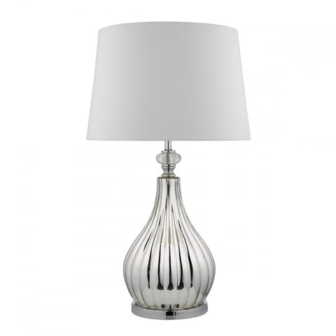 Fauvre Silver Table Lamp