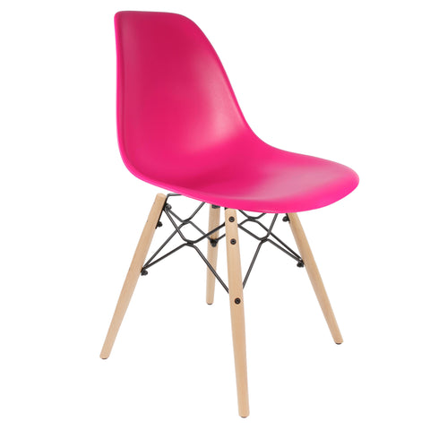 Kaleidoscope Chair Fuchsia