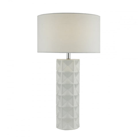 Gift White Ceramic Table Lamp