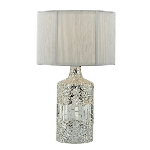Guru Silver Mosaic Table Lamp