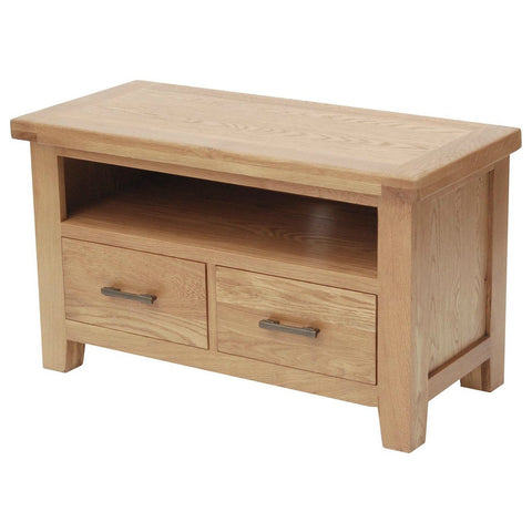 Hampton Oak Standard AV Unit