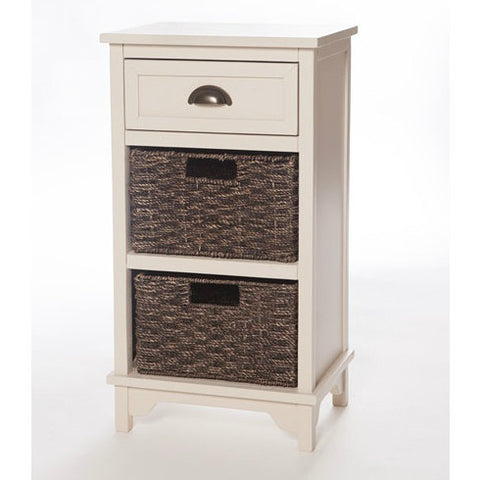 Libra Painted 3 Drawer Storage Unit