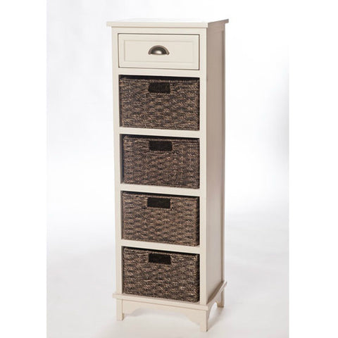 Libra Painted 5 Drawer Storage Unit