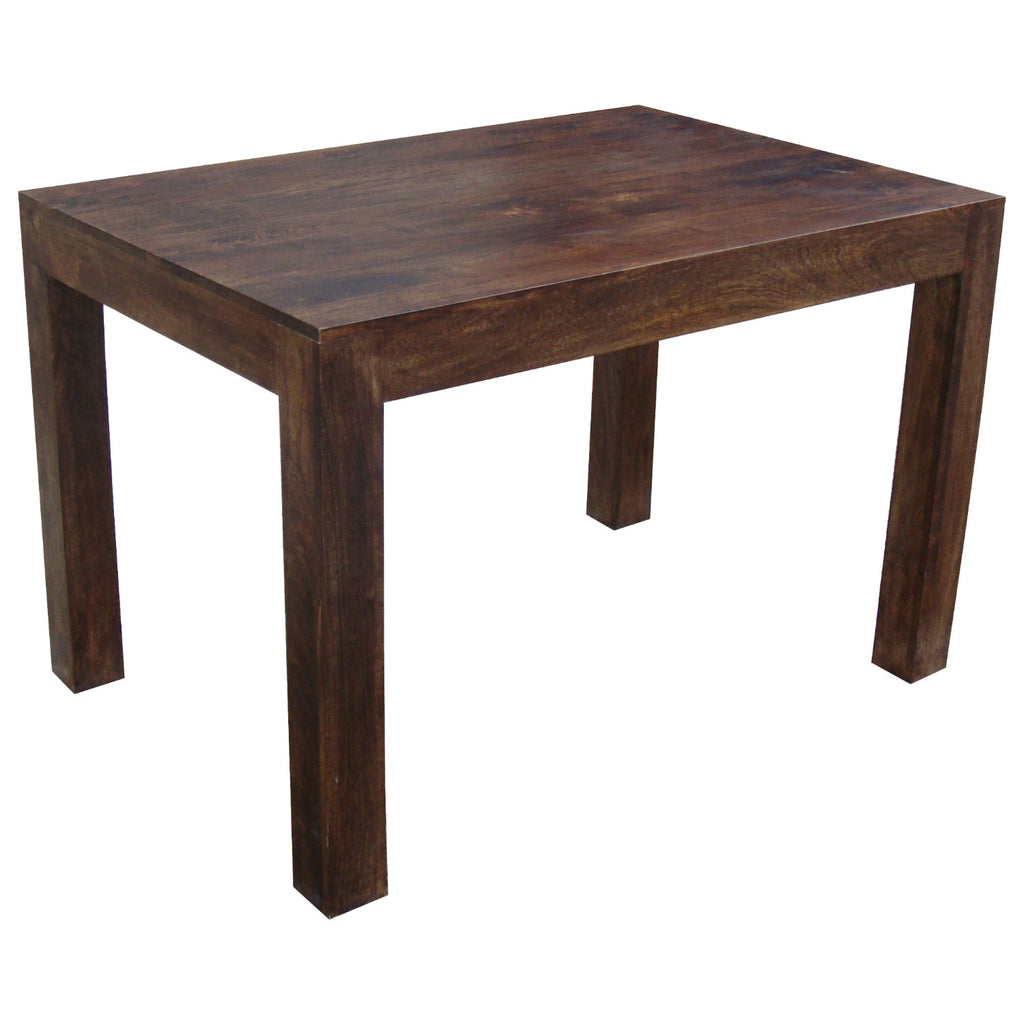 Mango Wood Dark 120x80 Dining Table from Quarter Furniture