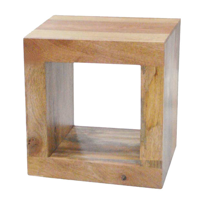 Mango Wood Light Cube 1.1 from Quarter Furniture