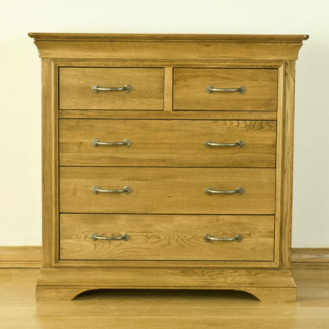 Montpelier Oak 5 Drawer Chest