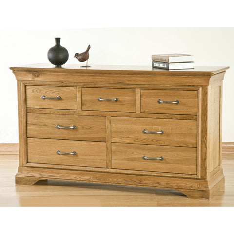 Montpelier Oak 7 Drawer Chest