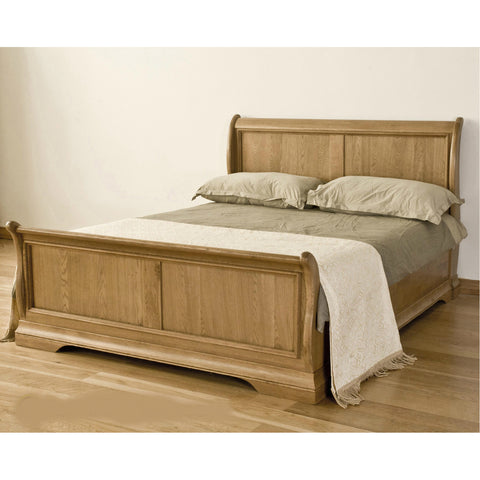 Montpelier Oak Sleigh Bed
