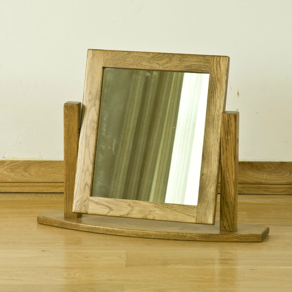 Montpelier Oak Dressing Table Mirror from Quarter Furniture
