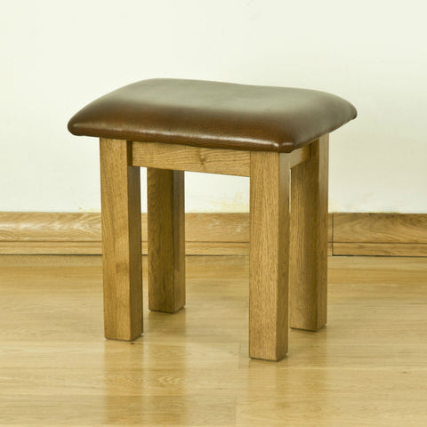 Montpelier Oak Dressing Table Stool