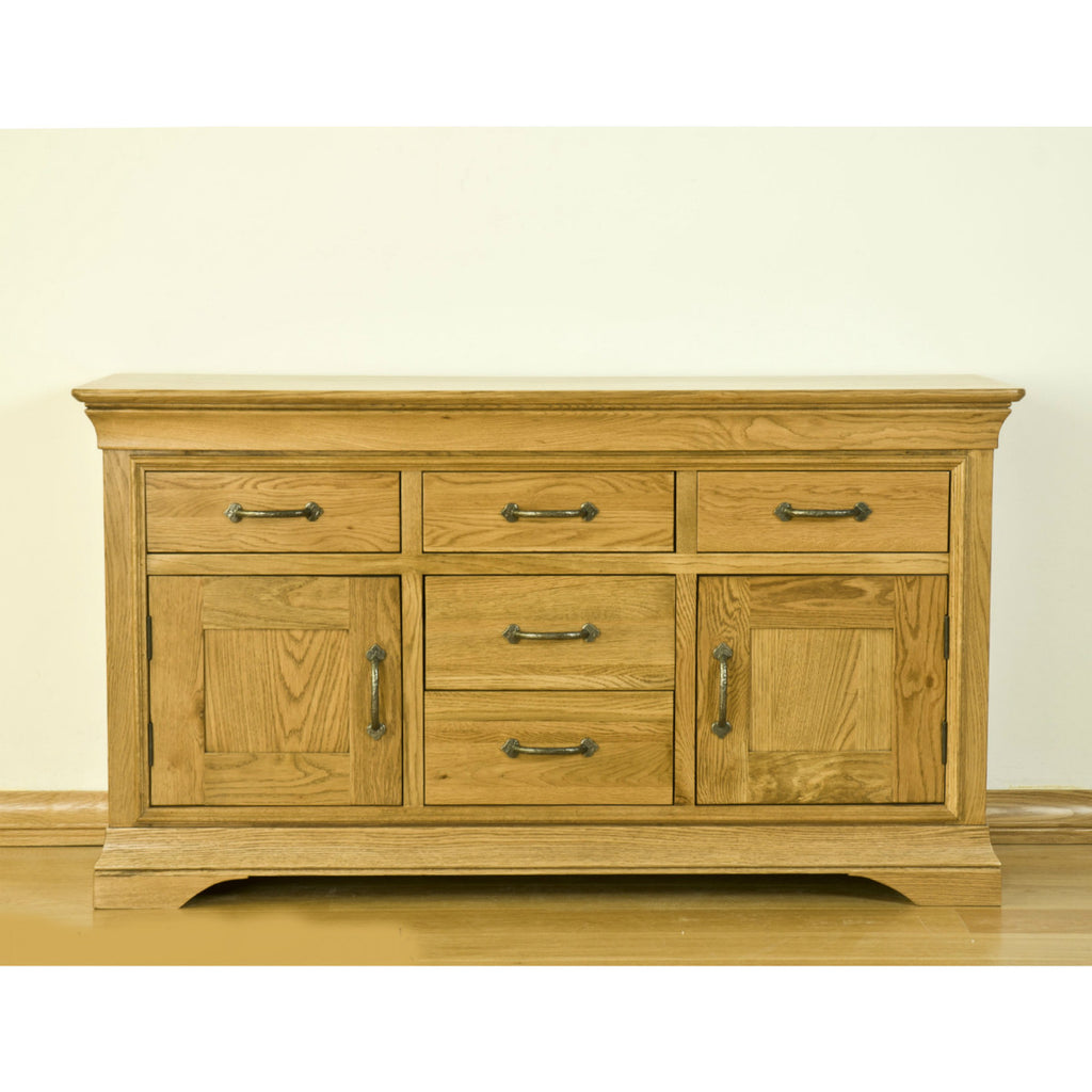 Montpelier Oak Large Sideboard from Quarter Furniture - 1