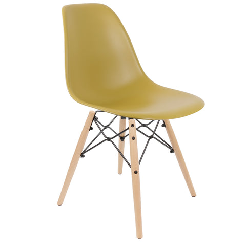 Kaleidoscope Chair Mustard