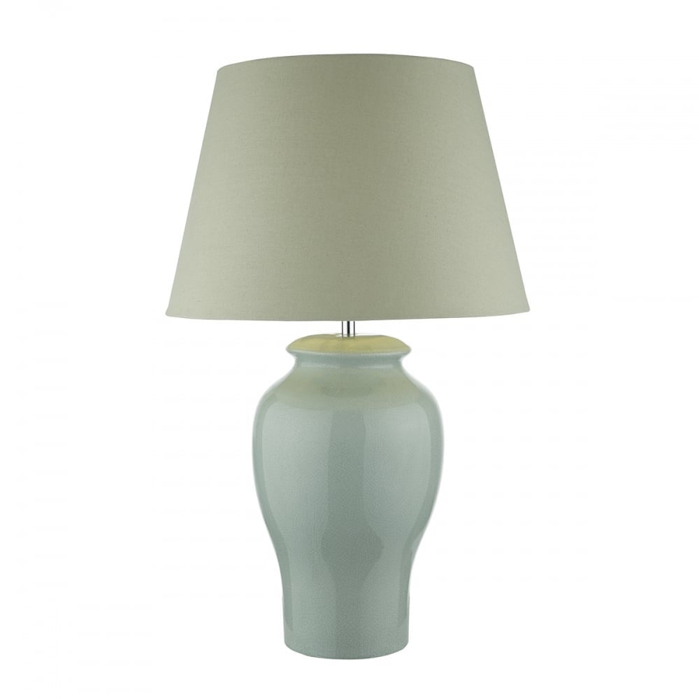 Oonagh Pale Blue Table Lamp