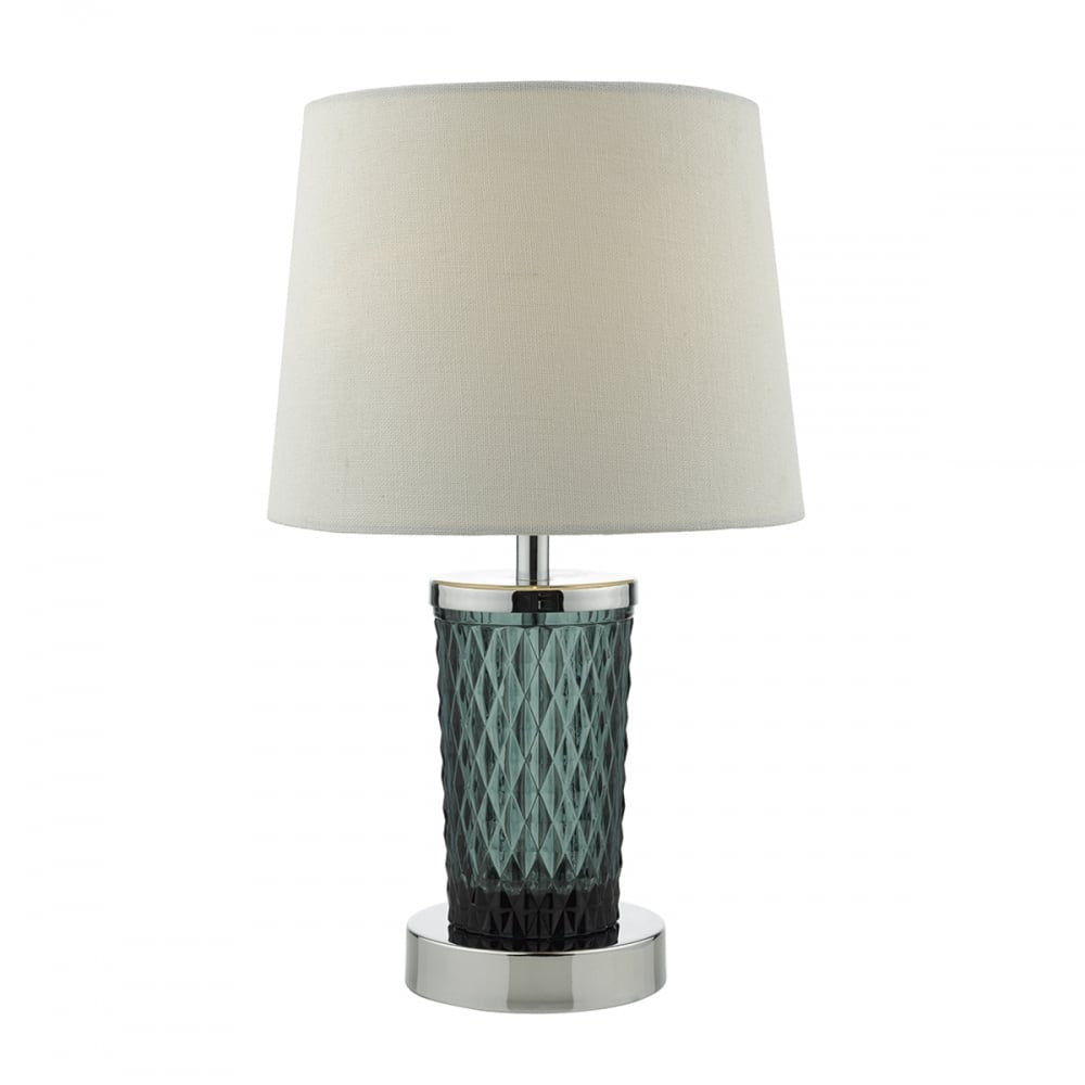 Pixie Teal Glass Table lamp