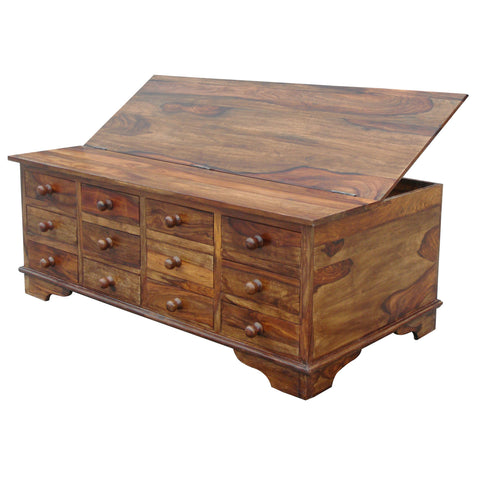 Sheesham 12 Drawer Trunk