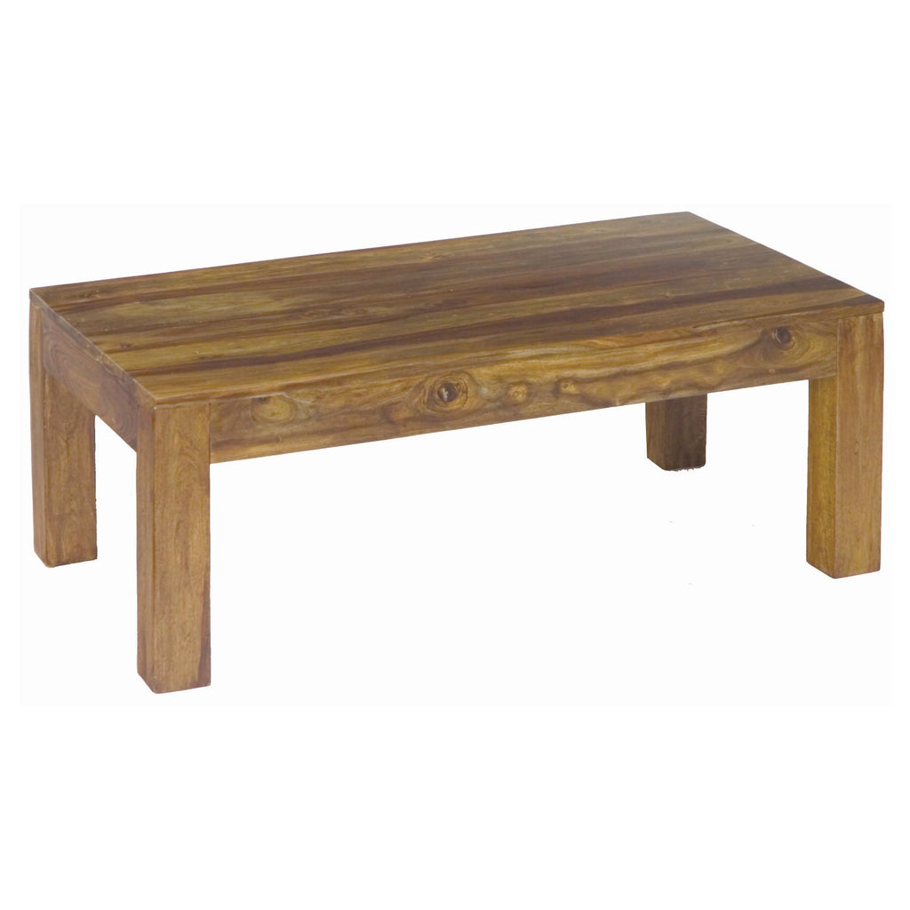Sheesham Rectangular Coffee Table from Quarter Furniture