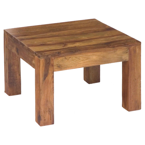 Sheesham Small Square Side Table