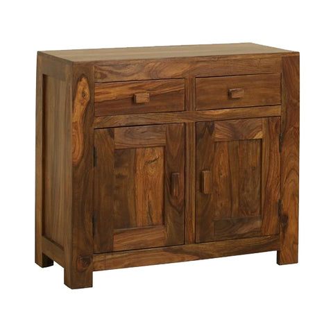 Sheesham 2 Drawer 2 Door Sideboard