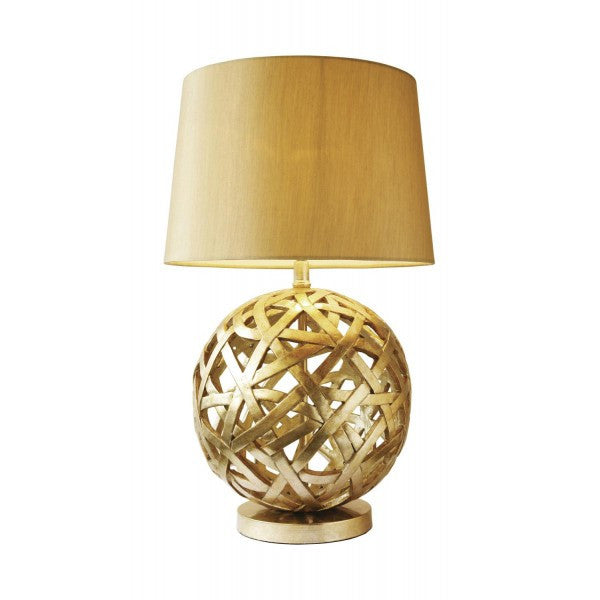 Balthazar Bronze Table Lamp With Shade from Quarter Furniture