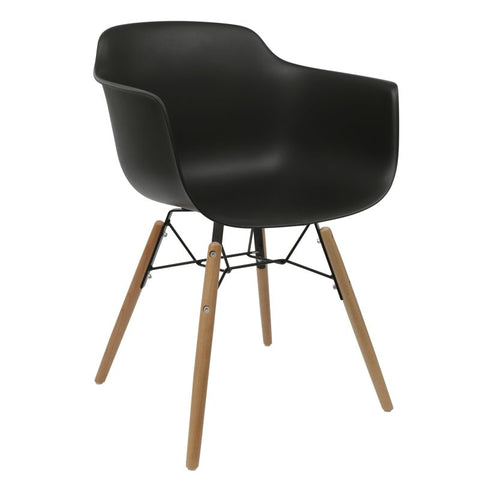 Element Armchair Black