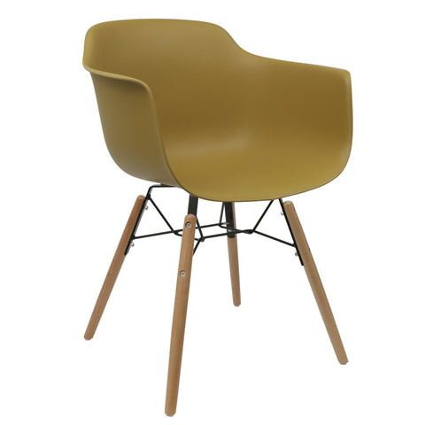 Element Armchair Mustard