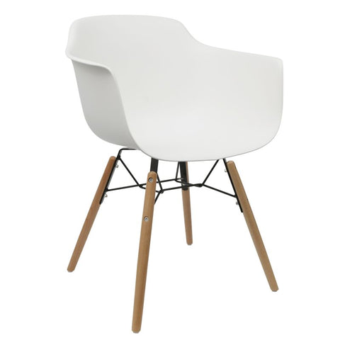 Element Armchair White