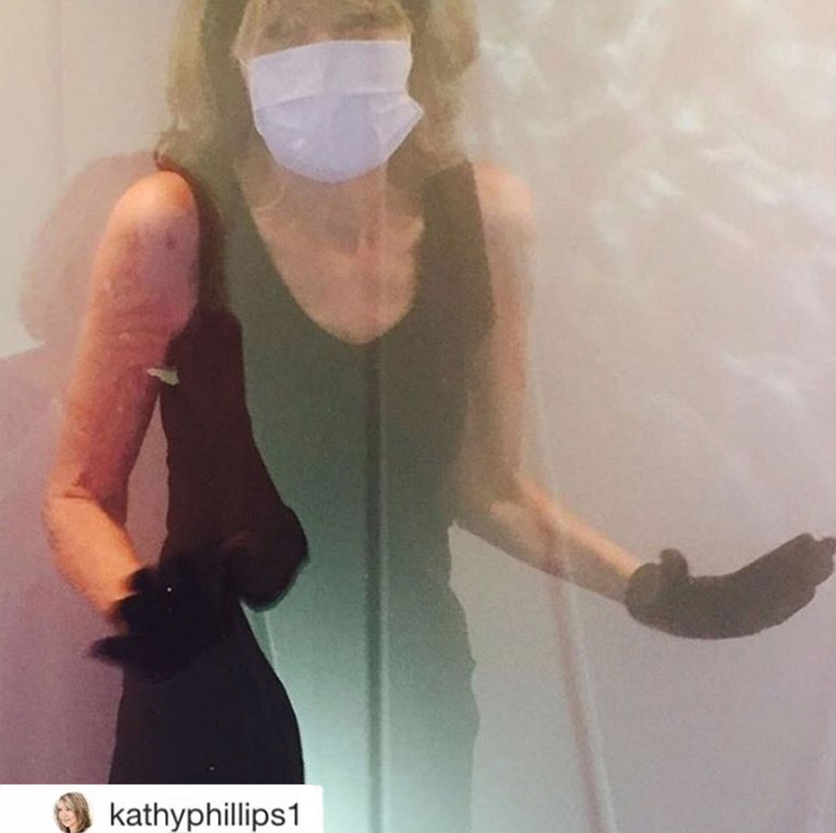 International Director for Vogue Kathy Phillips goes to 111cryo