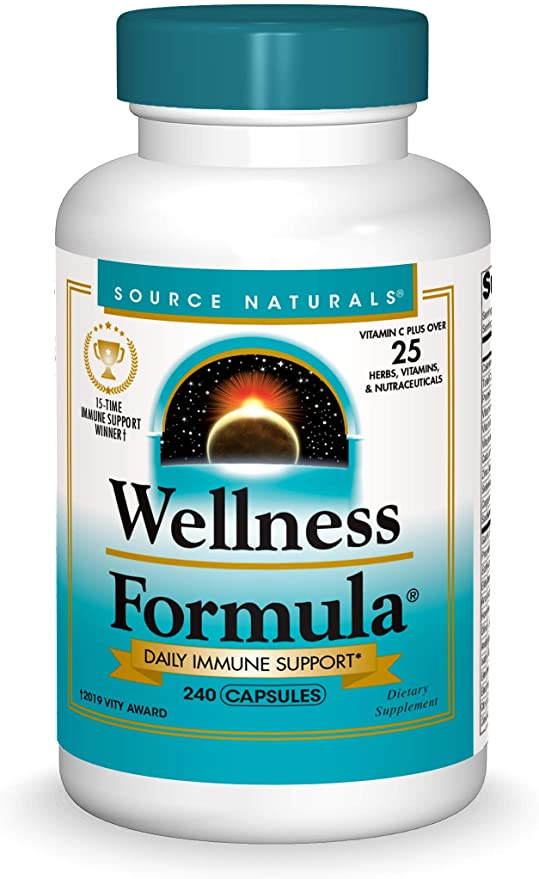 Source Naturals Fórmula de Bienestar Vitaminas Bio-Alineadas y Defensa Herbal, SCN14263, 1