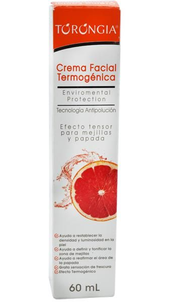 Torongia. Crema Facial Termogenica. 60 ml