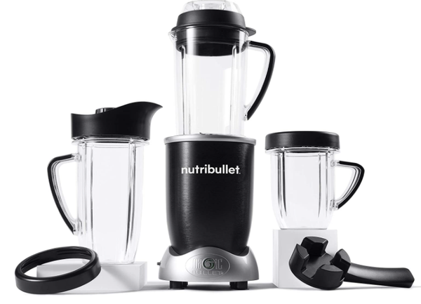 Licuadora Magic Bullet Nutribullet RX N17-1001, color negro, Nuevo, Negro