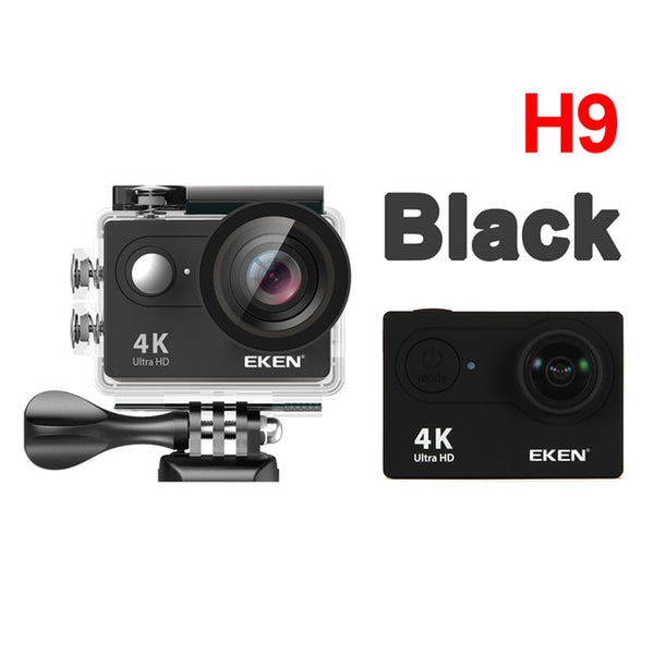 EKEN H9R H9 Action Camera Ultra HD 4K 30fps WiFi 2.0-inch 170D Underwater Waterproof Helmet Video Recording Cameras Sport Cam