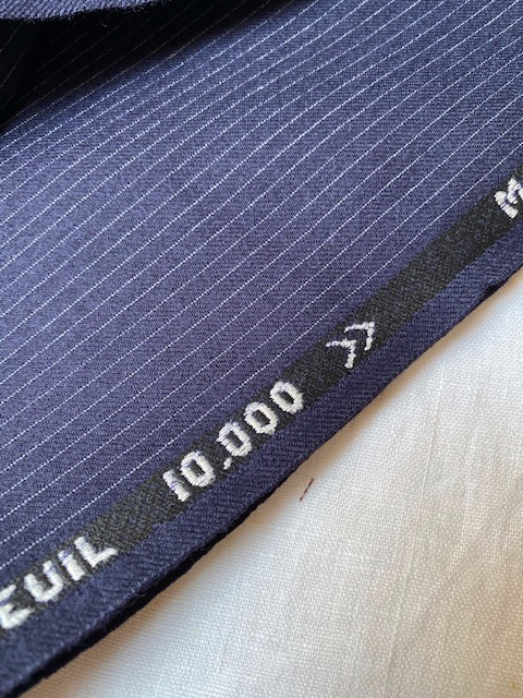 Vintage Dormeuil Fabric for suits #6010