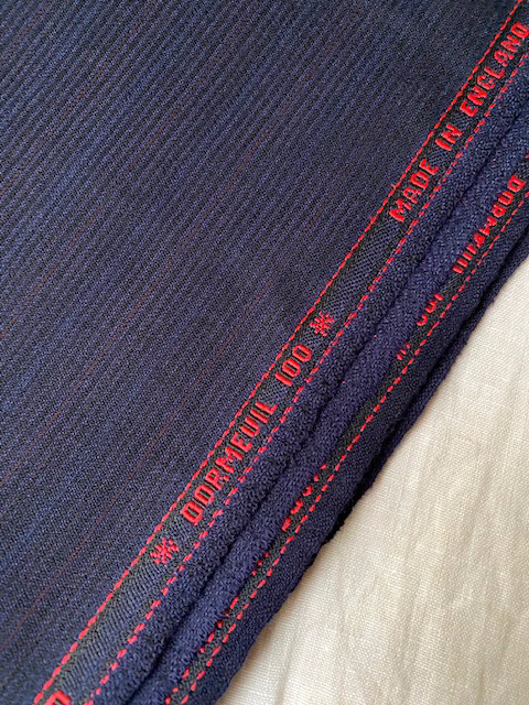 Vintage Dormeuil for suit #6059