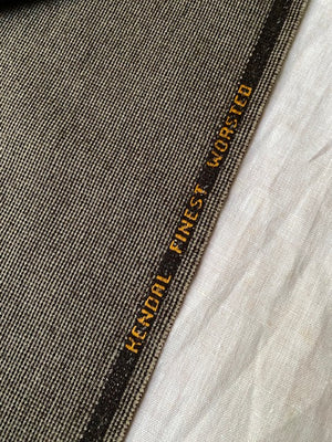 Vintage Eurotex flannel for suit #6076