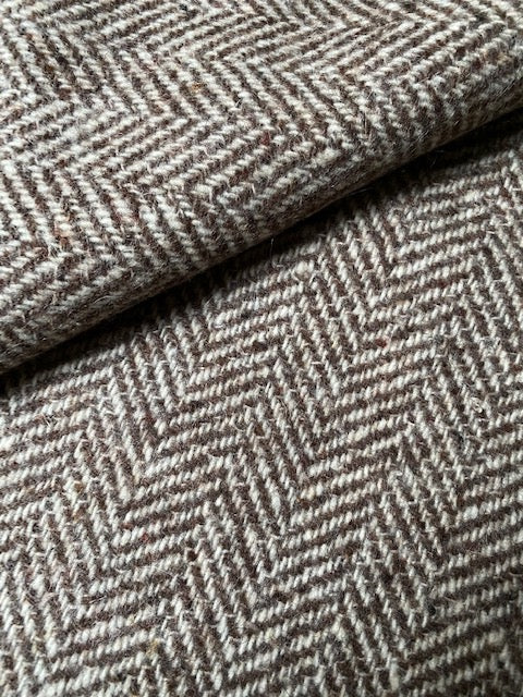 "Vintage fabric for ""giaccone"" short coat #6089"