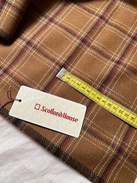 Scotland House Vintage fabric for jacket #6106